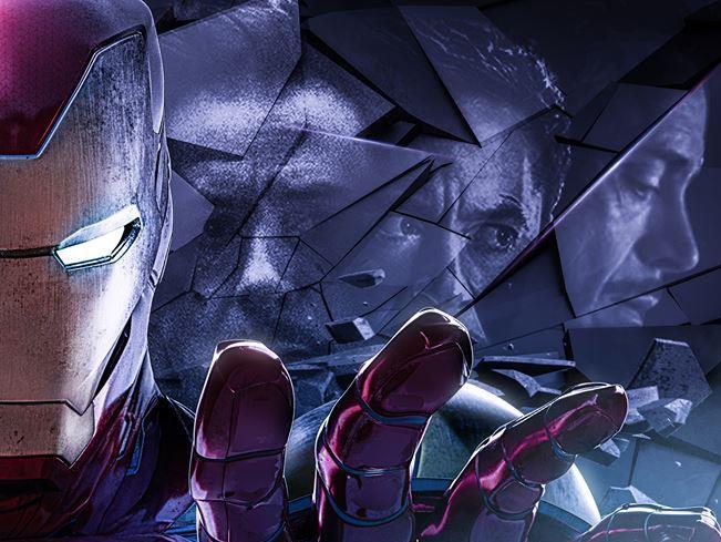 Poster di Avengers: Endgame dedicato a Tony Stark