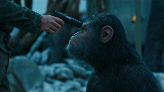 Una scena di War for The Planet of The Apes