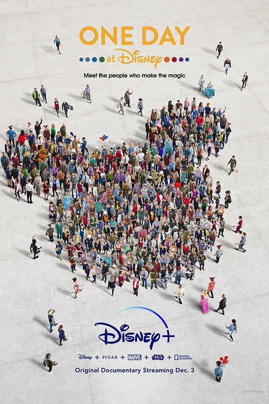 Un giorno in Disney - il poster del documentario