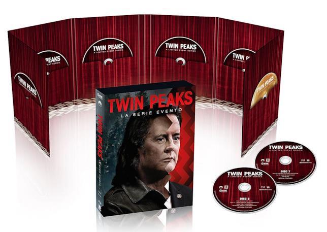 La versione Blu-ray del cofanetto della terza stagione di Twin Peaks