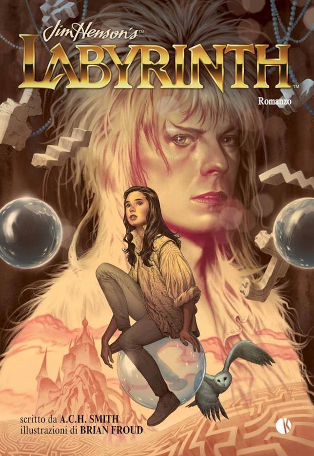 La copertina italiana di Labyrinth