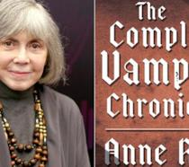 Anne Rice e la copertina di The Vampire Chronicles