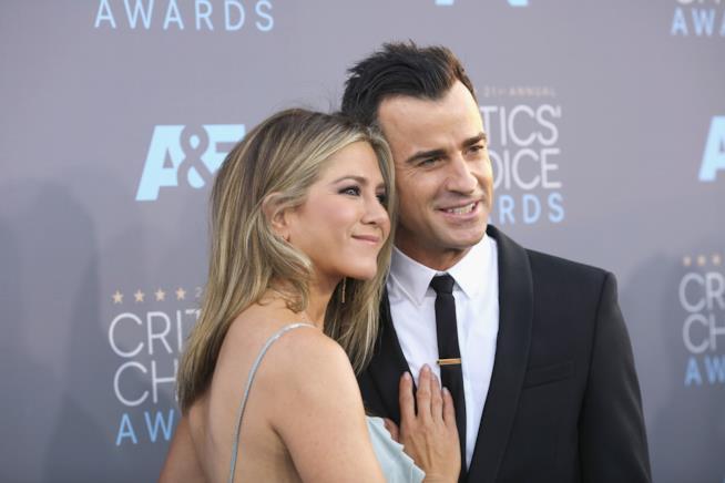 Jennifer Aniston e Justin Theroux a un evento ufficiale