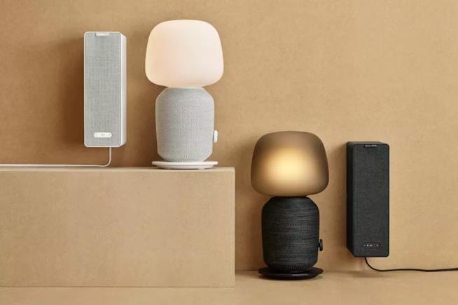 IKEA Symfonisk: lampada e cassa