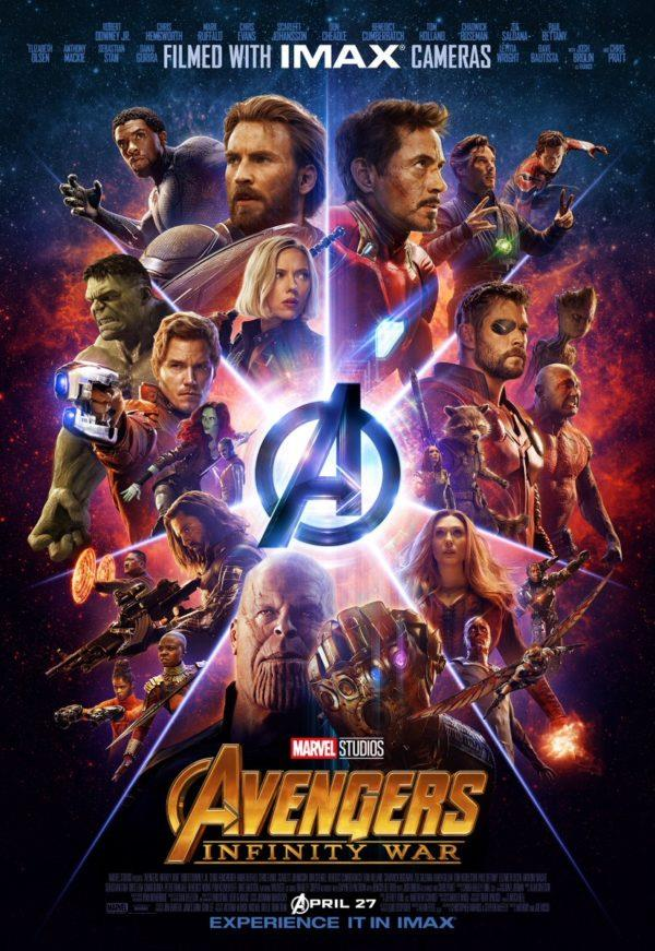 Il gigantesco cast di Infinity War
