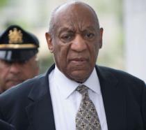 L'attore Bill Cosby dopo il processo