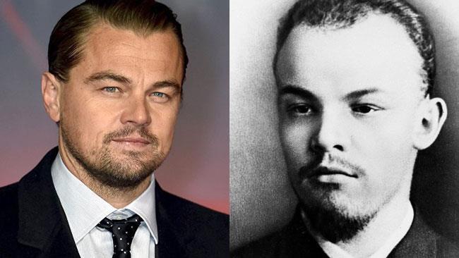 Leonardo DiCaprio e Lenin