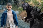 Eleven in Stranger Things affronta Godzilla