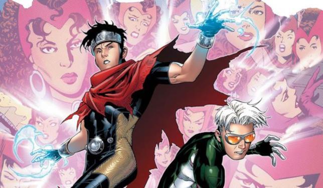 Wiccan e Speed nei fumetti