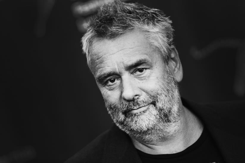Luc Besson in primo piano