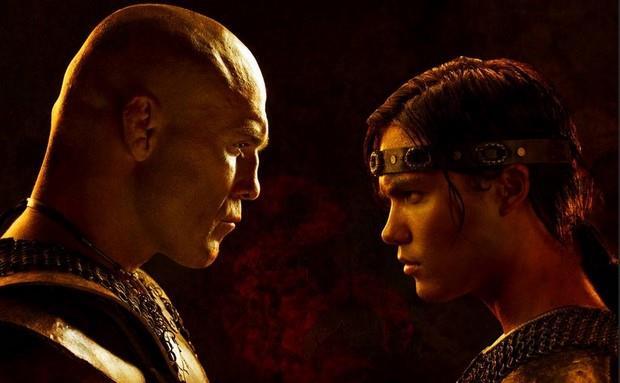 Michael Copon e Randy Couture in Il Re Scorpione 2 - Il destino di un Guerriero