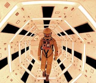 Una scena di 2001: Odissea nello Spazio