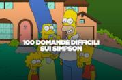 100 domande difficili sui Simpson