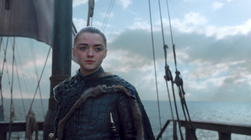 Maisie Williams in Game of Thrones 8x06