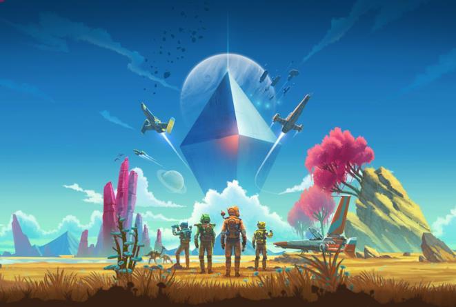 Concept art per Next, nuovo aggiornamento di No Man's Sky