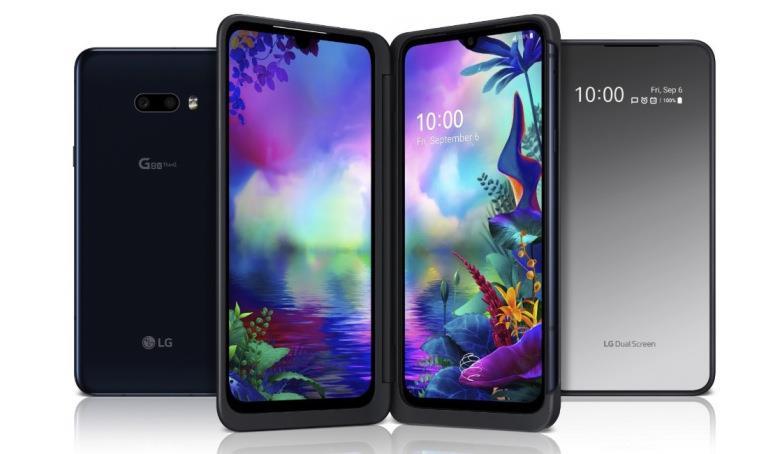 LG sviluppa la tecnologia dual screen per i suoi smartphone