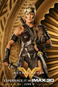 Antiope nel character poster di Wonder Woman