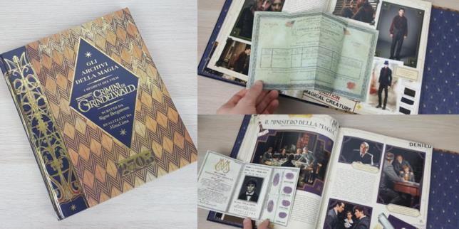 Gli archivi della magia. Esplora i segreti del film Animali fantastici: i crimini di Grindelwald