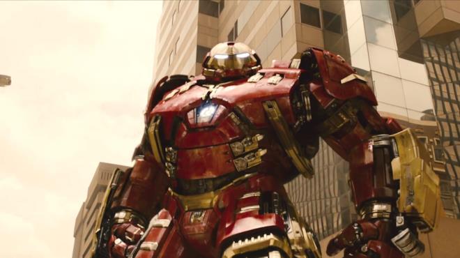 Armatura Hulkbuster di Iron Man in Avengers: Age of Ultron