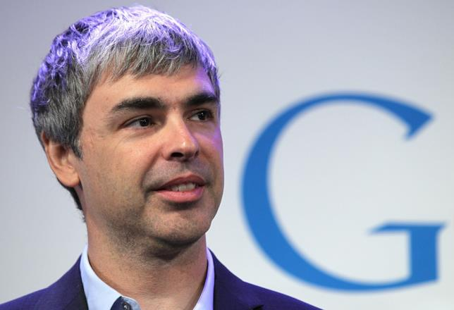 Larry Page in primo piano