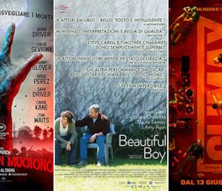 I poster di I morti non muoiono, Beautiful Boy, Climax