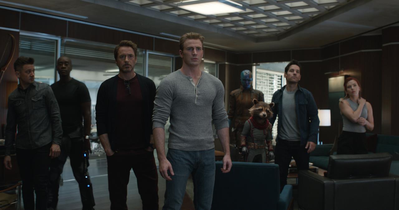 Vendicatori e Guardiani della Galassia che affronteranno Thanos