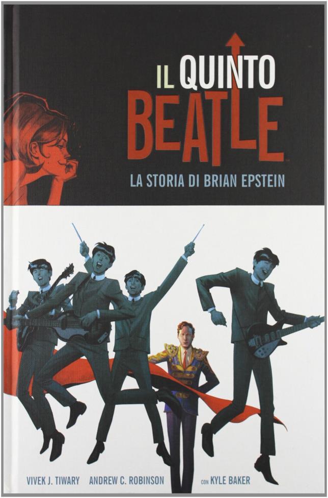 Copertina del Il Quinto Beatle