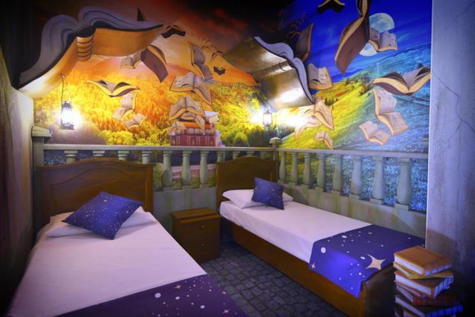 Stanza Grande Mago per bambini - Gardaland Magic Hotel