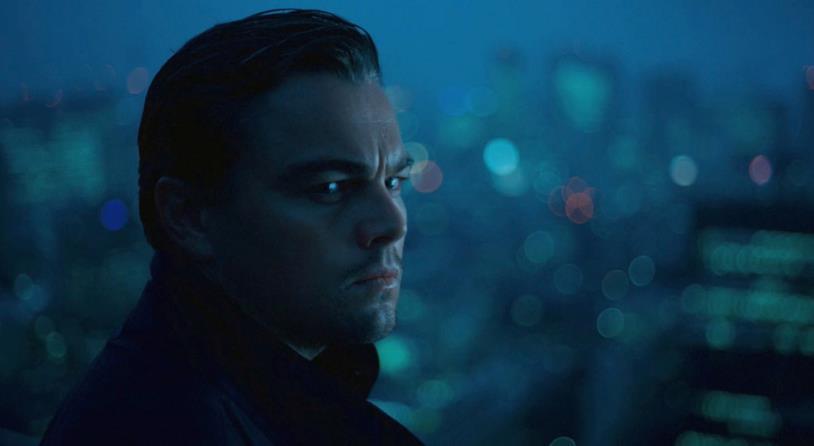 Leonardo DiCaprio in una scena di Inception