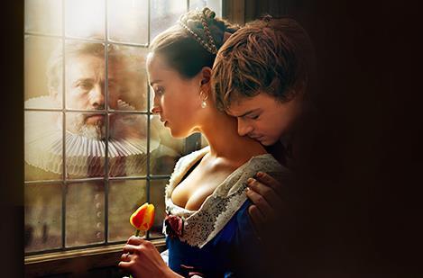 Un'immagine del film La ragazza dei tulipani