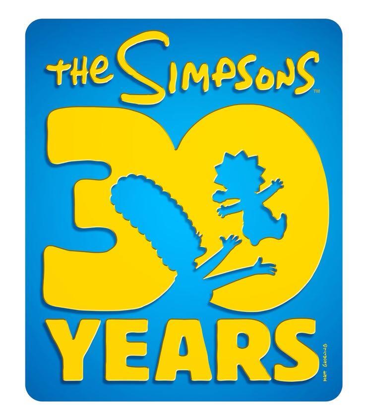 Il nuovo logo dei Simpson per la 30esima stagione