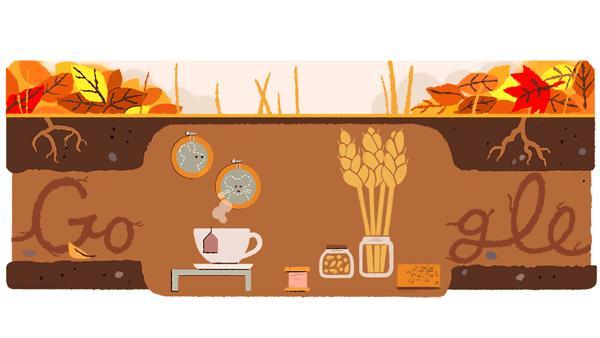 Il Google Doodle dell'Equinozio d'autunno