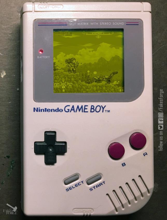 La versione Game Boy di Horizon: Zero Dawn