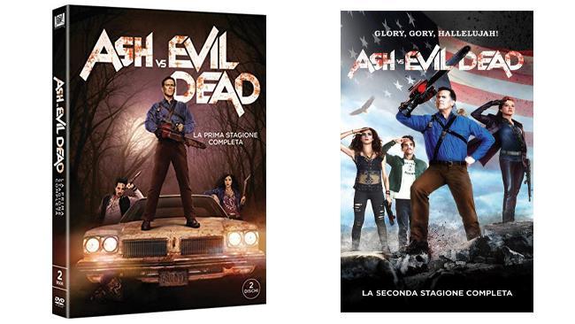 Ash VS Evil Dead - stagioni 1 e 2 - DVD