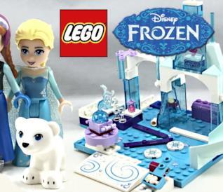 8 set 3 corti d'animazione LEGO dedicati al film d'animazione Disney Frozen