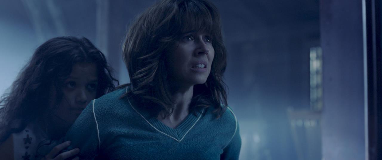 Anna Tate-Garcia assiste all'apparizione della Llorona