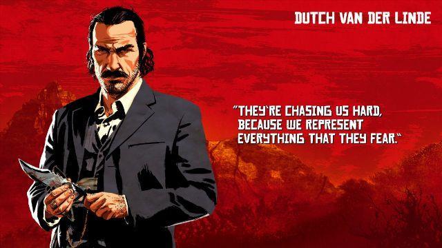 Dutch Van Der Linde è capo dell'omonima gang di Red Dead Redemption 2
