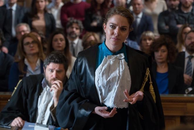 Claudia Gerini in una scena di Non sono un assassino