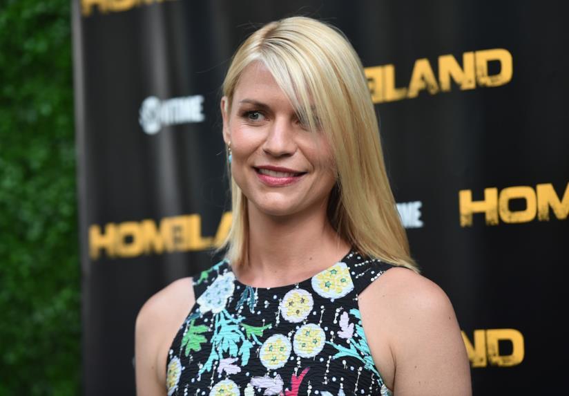 Claire Danes di Homeland a un evento di gala