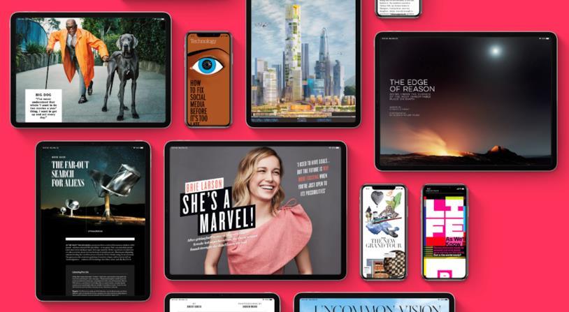 Immagine promozionale di Apple News+