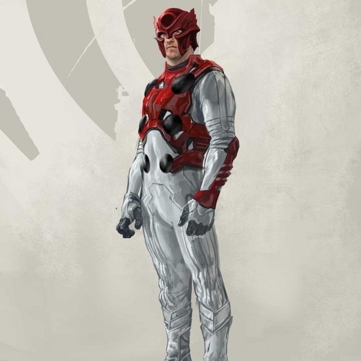 L'artista Aleksi Briclot ha disegnato questo concept art di Thor per il film Thor: Ragnarok