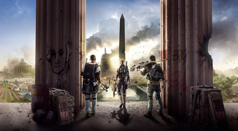 La cover ufficiale di The Division 2