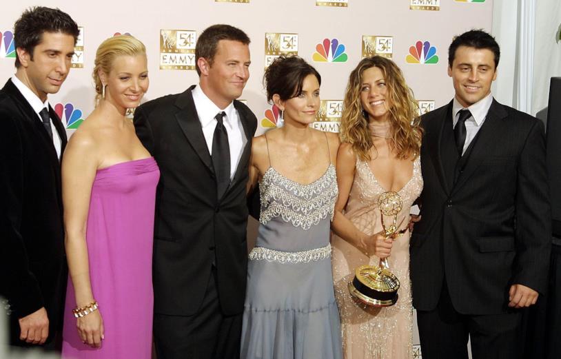 I protagonisti di Friends in una delle ultime reunion