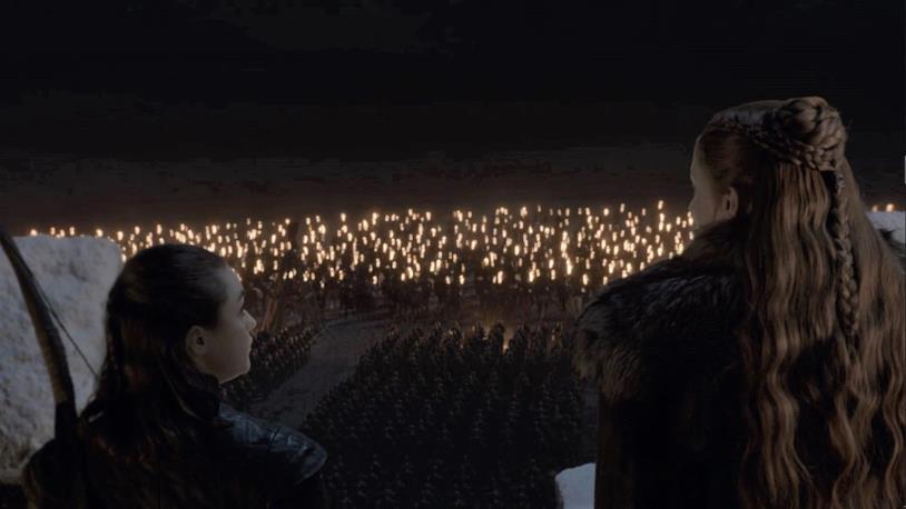 I Dothraki prima della battaglia di Grande Inverno