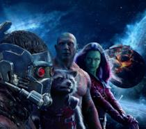 Gli eroi de I Guardiani della Galassia in un poster del film