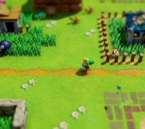 Un'immagine di gioco da The Legend of Zelda: Link's Awakening su Switch
