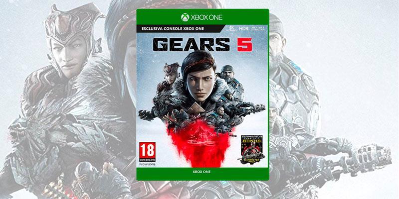 La boxart di Gears 5, in uscita a settembre