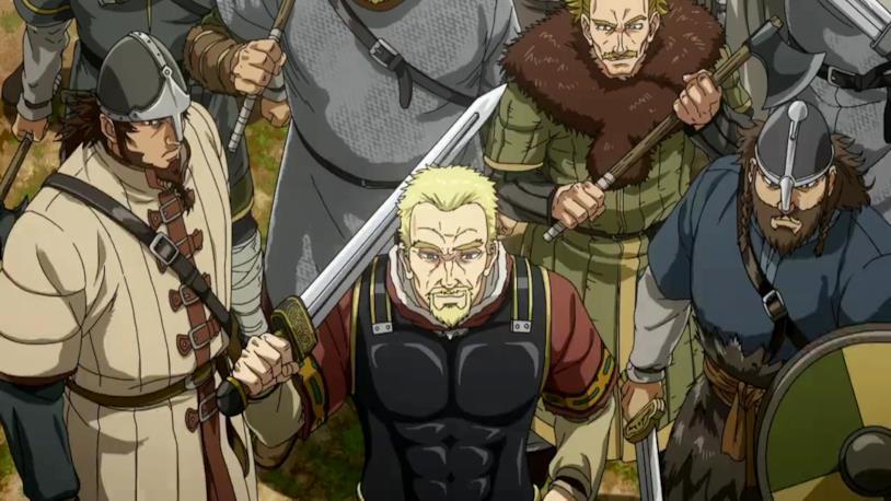 Vinland Saga vichinghi