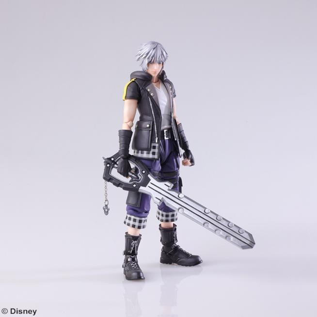 L'action figure di Riku da Kingdom Hearts 3