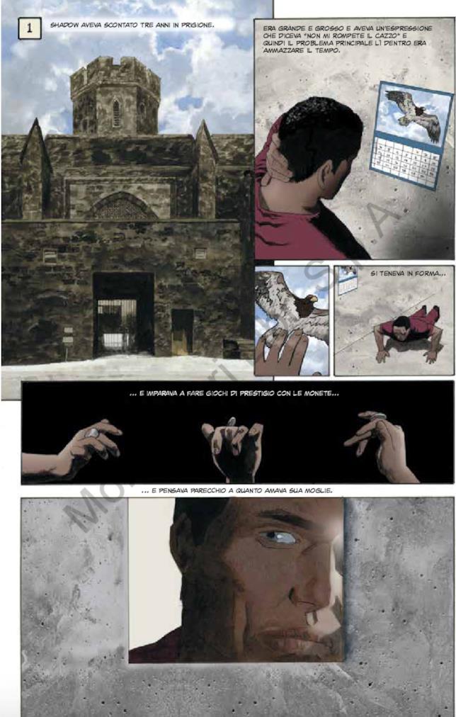 L'ultimo giorno in carcere di Shadow